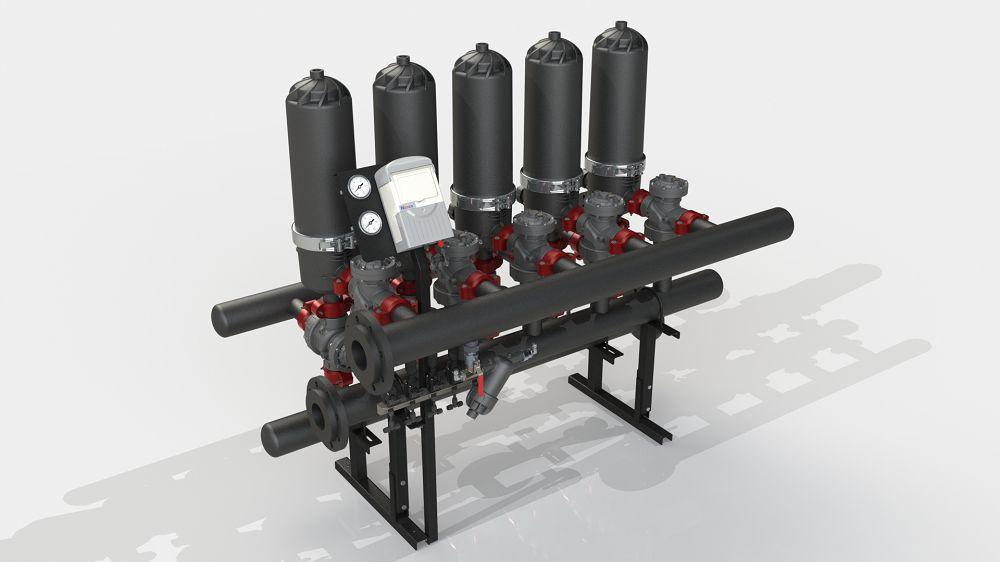 Система фільтрації ADF 516A-ES (100-400 мкм)