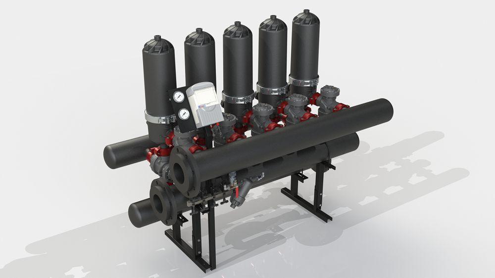 Система фільтрації ADF 516A-ES (5-50 мкм)