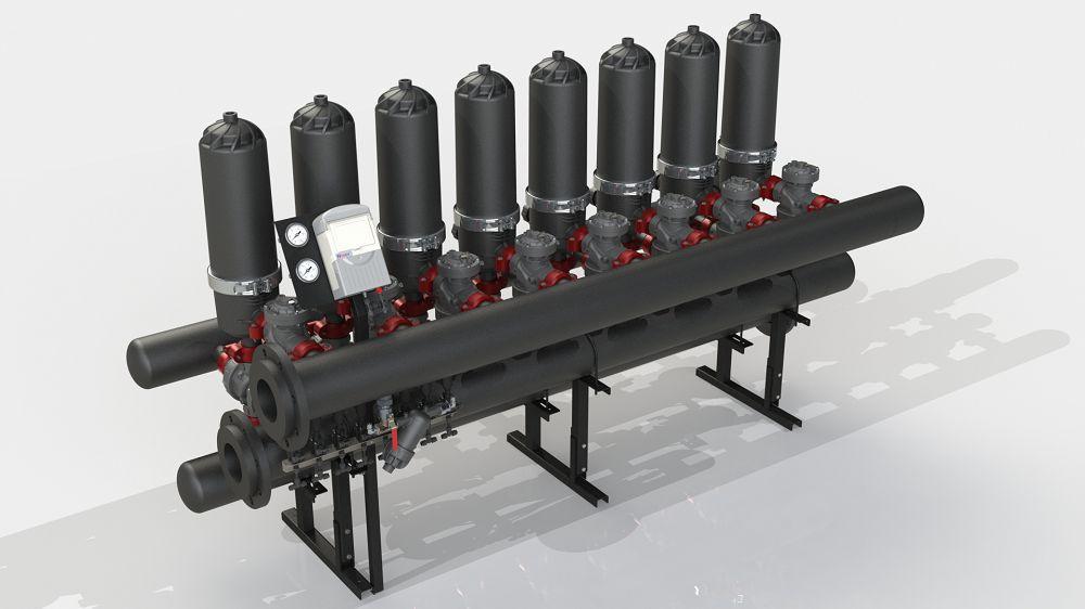 Filtration System ADF 816A-ES (5-50 мкм)