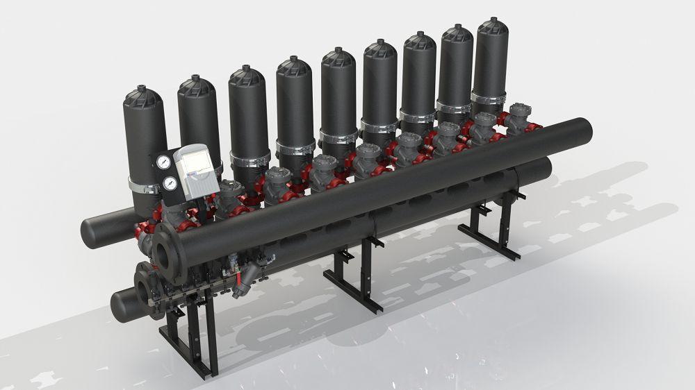 Filtration System ADF 916A-ES (5-50 мкм)