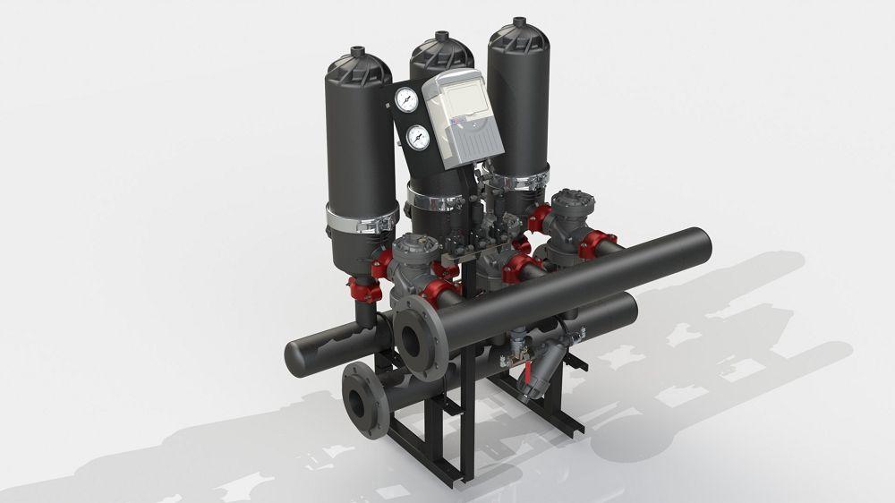 Система фільтрації ADF 316A-S (130 мкм)