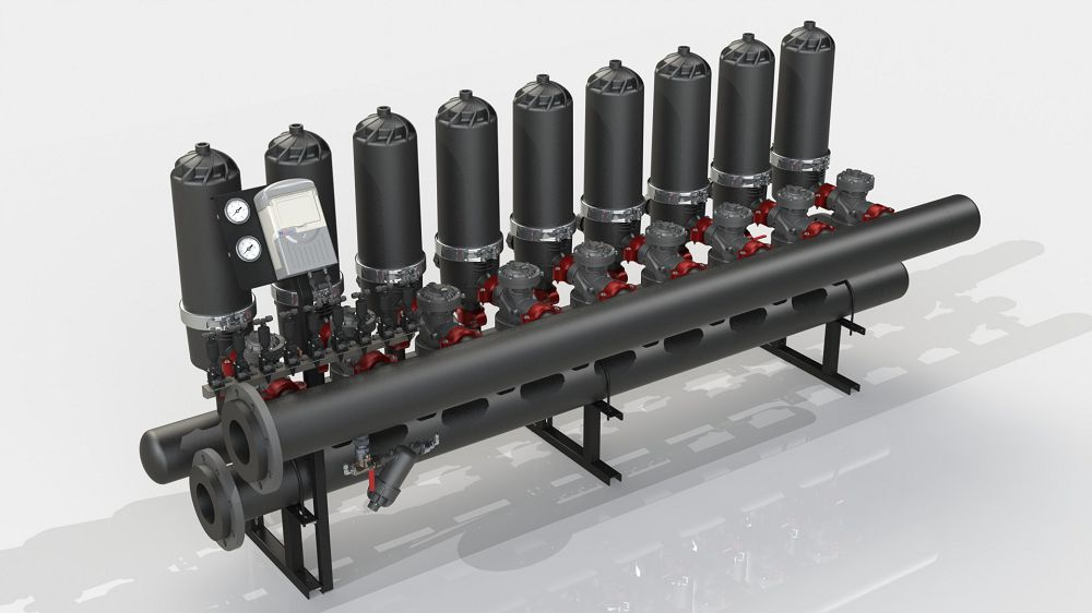 Filtration system ADF 916A-S (5-50 microns)