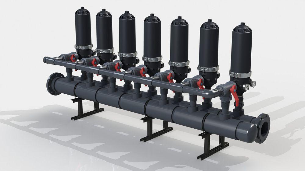 Система фильтрации PDF 716A-S (5-50 micron)