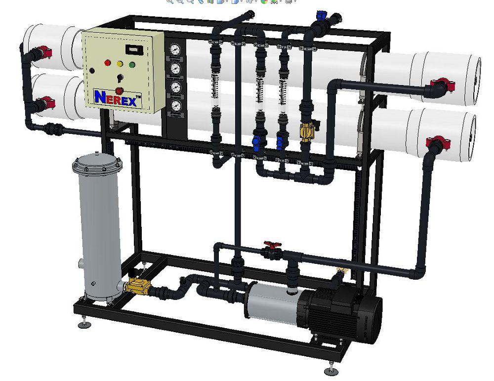 Reverse Osmosis System BWRO482-S