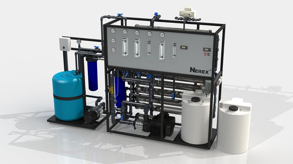 Two-stage reverse osmosis system TPRO1040-S