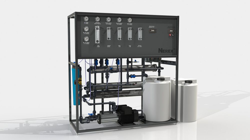 Two-stage reverse osmosis system TPRO340-S