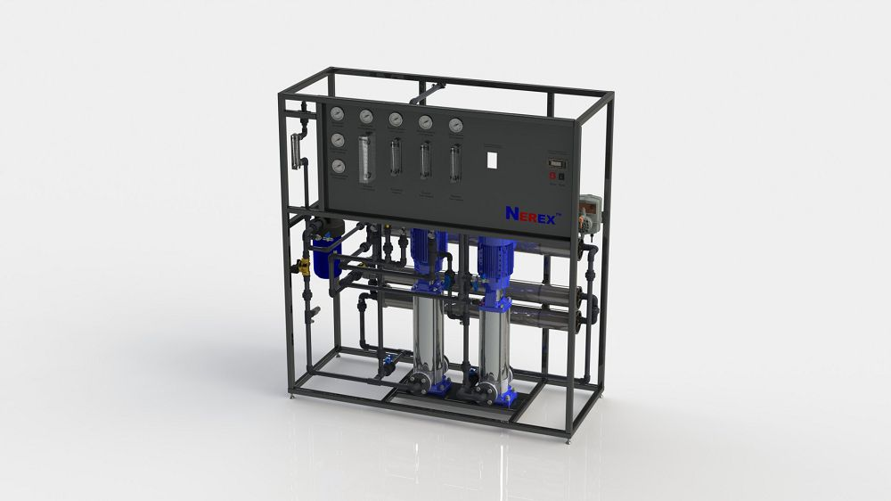 Two-stage reverse osmosis system TPRO240-S