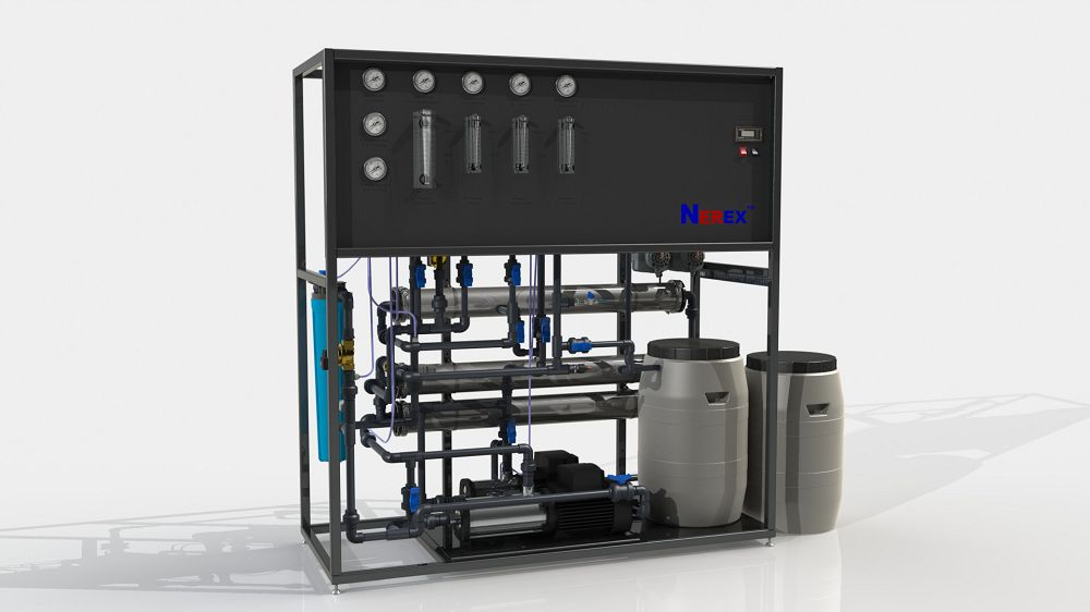 Two-stage reverse osmosis system TPRO380-S