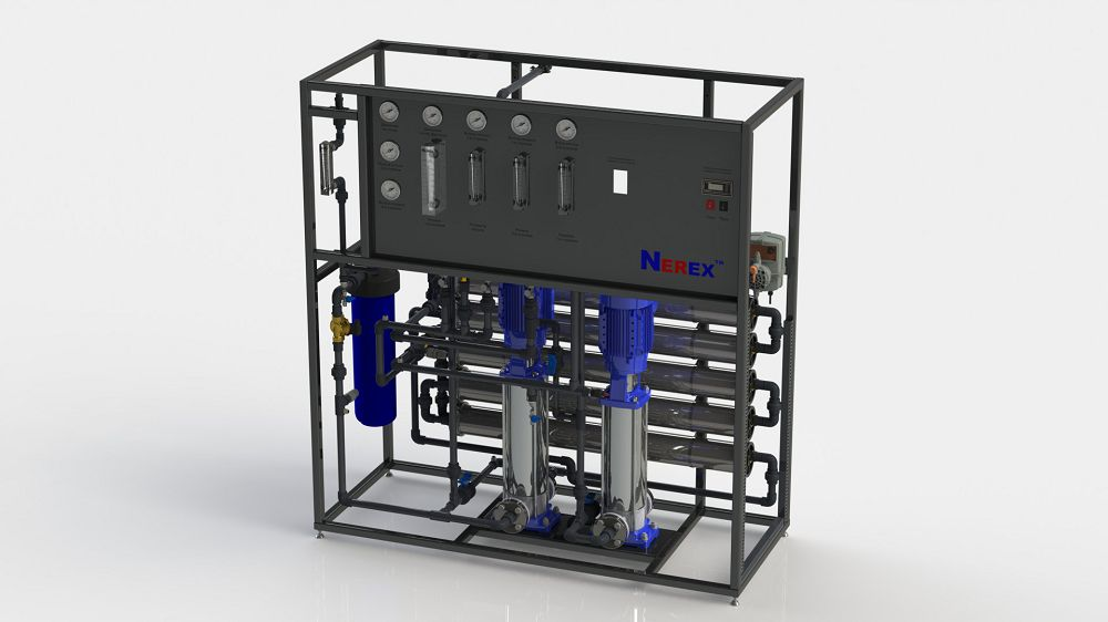 Two-stage reverse osmosis system TPRO740-S