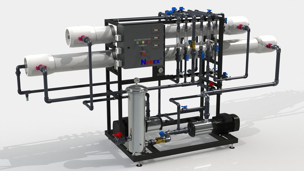 Two-stage reverse osmosis system TPRO580-S
