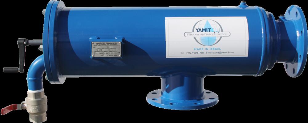 Filter Yamit SA508B зі щітковим типом очищення
