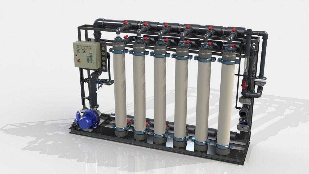 Система ультрафильтрации UFS 672T-S