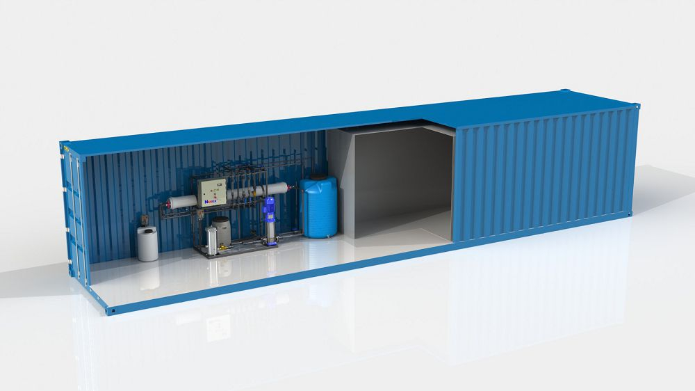Оборудованный контейнер 40 футов
